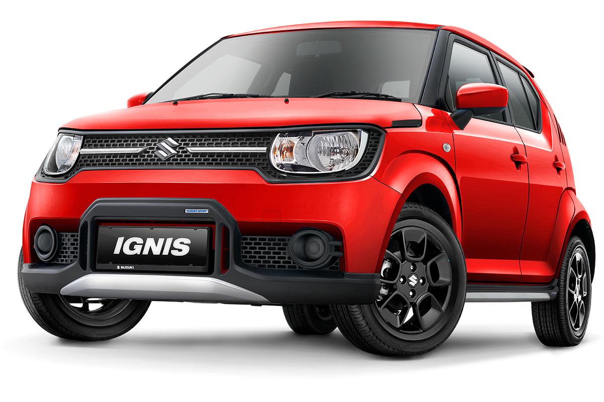 Suzuki Ignis Sport Edition cash & credit